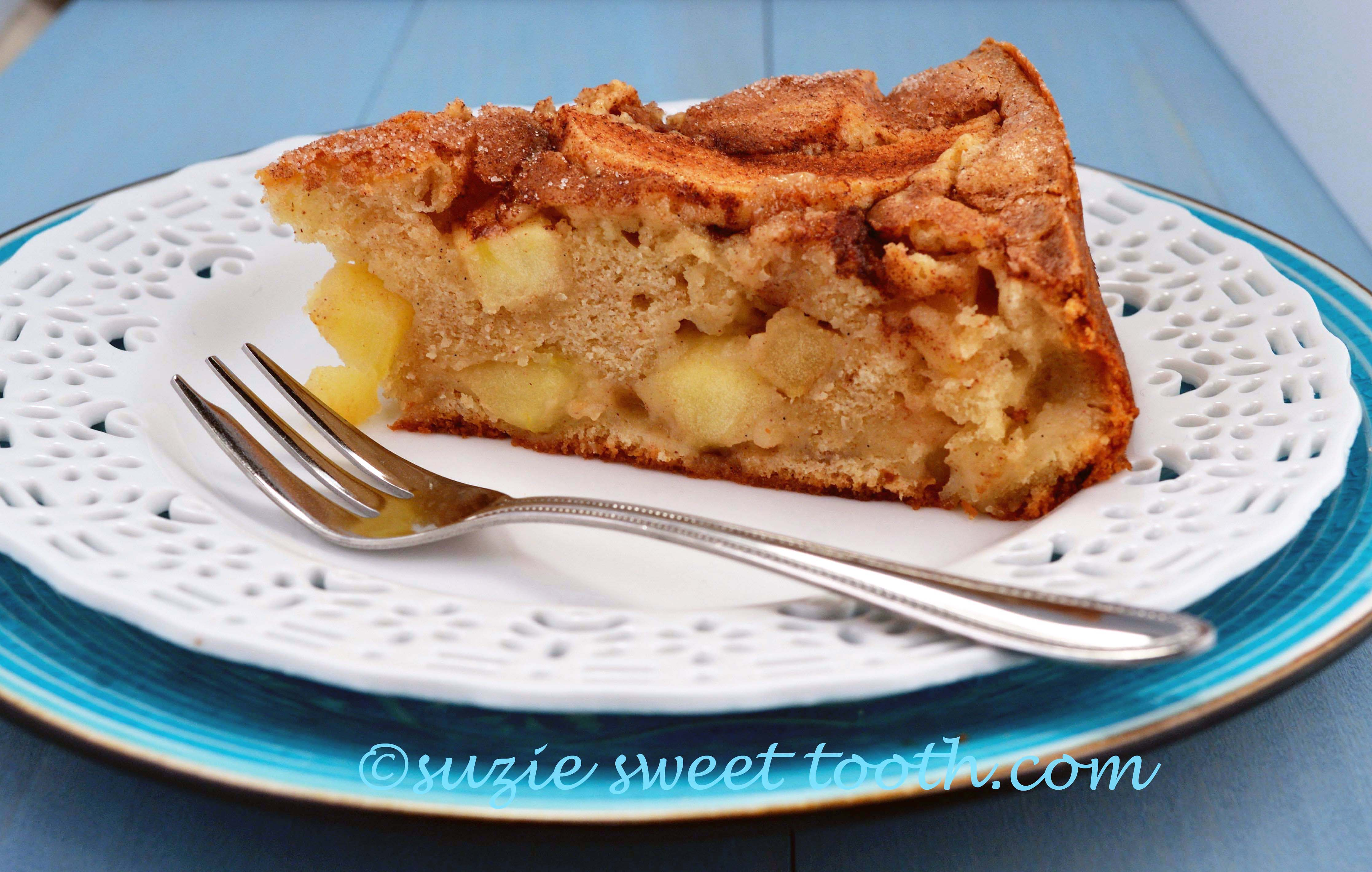 Caramel Apple And Walnut Coffee Cake For Baketogether Recipes ...