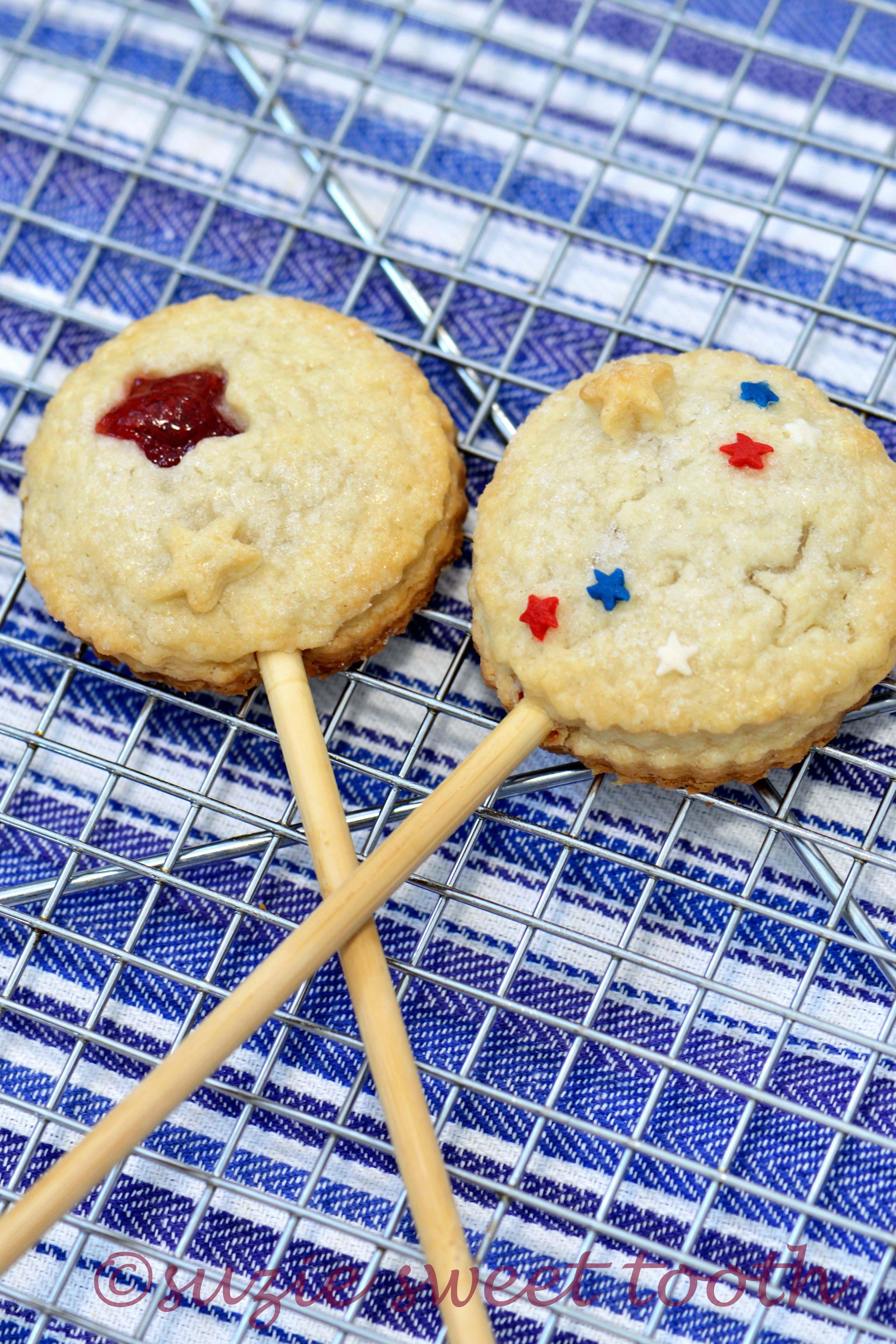 Raspberry Pie Pops Suzie Sweet Tooth
