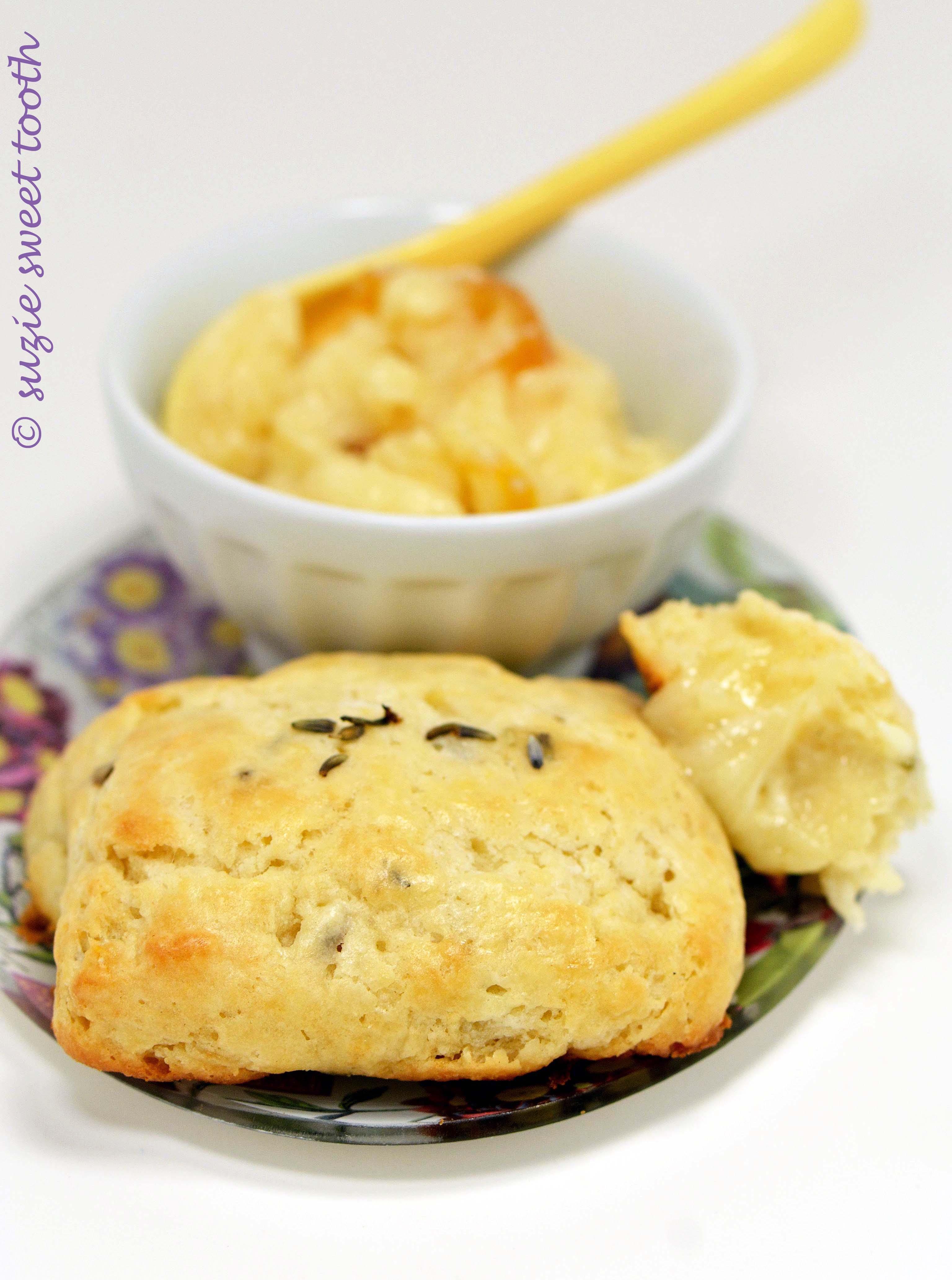 Sweet Lavender Scones with Whipped Meyer Lemon Butter ...