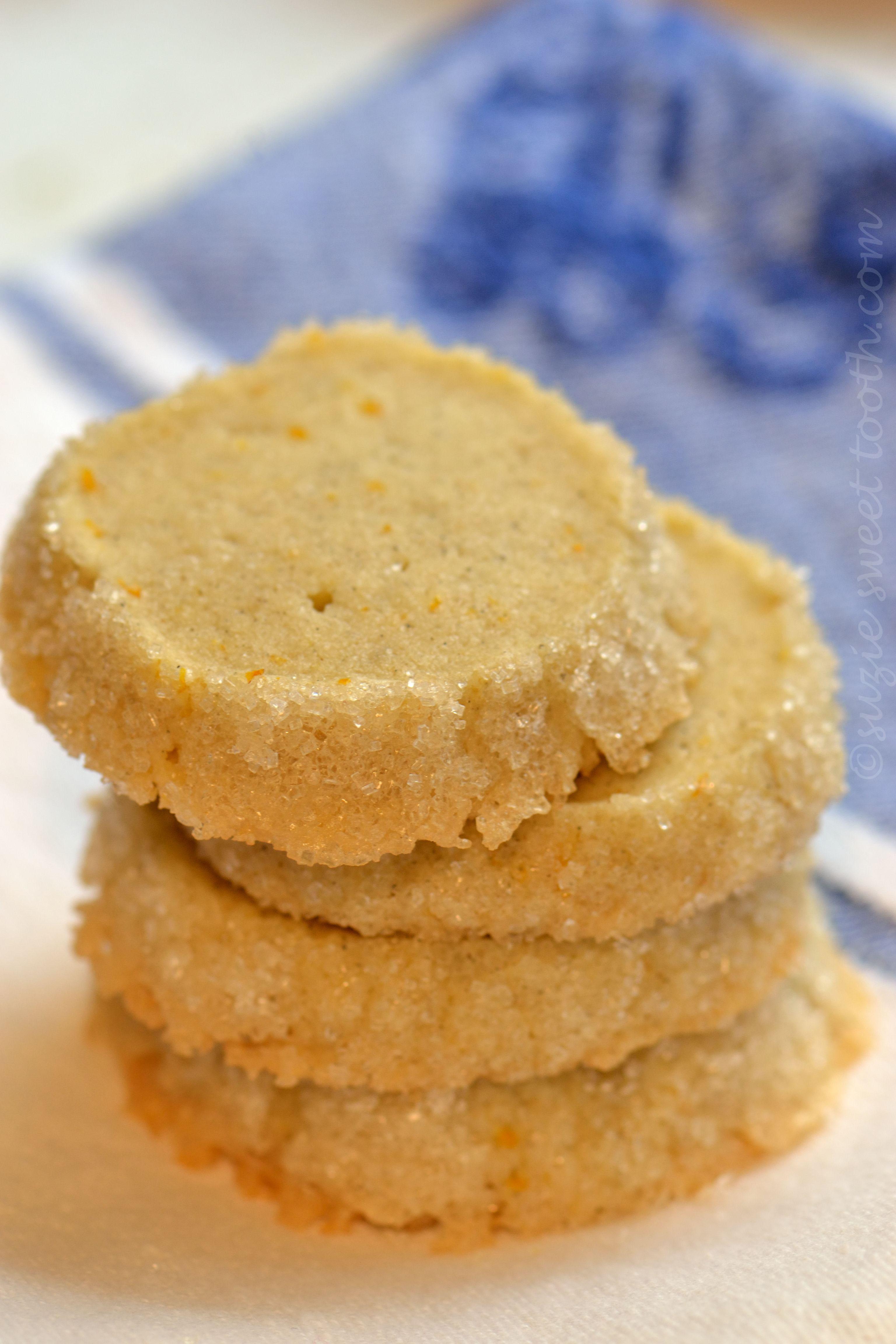 Orange Cardamom Sables | suzie sweet tooth