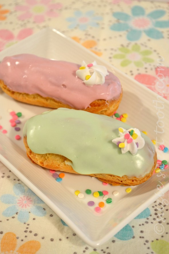 Easter Eclairs v