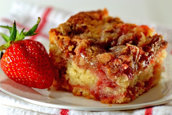 Strawberry Crumb Cake 3h