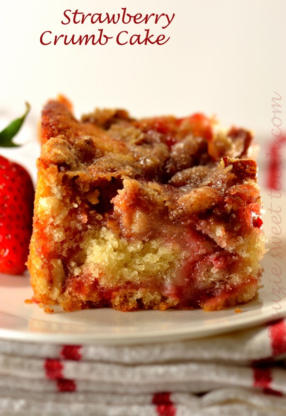 Strawberry Crumb Cake v