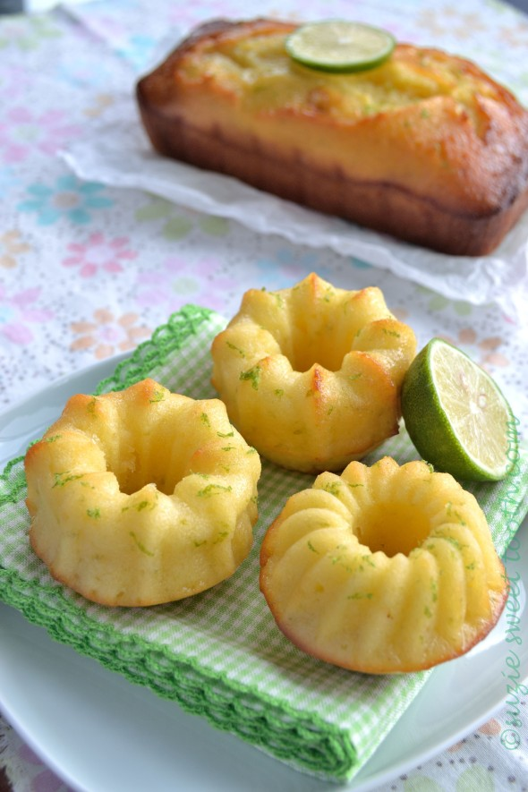 Lime Syrup Bundtlettes