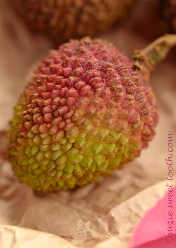lychee unpeeled