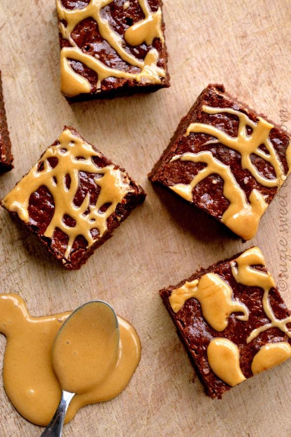 Mocha Brownie Squares