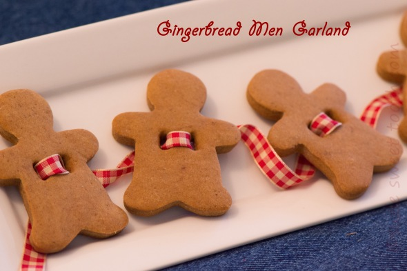 Gingerbread Men Cookie Garland