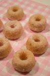 Sakura Sugared Donuts