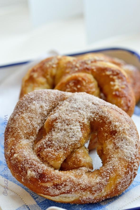 pretzel cinnamon sugar variety