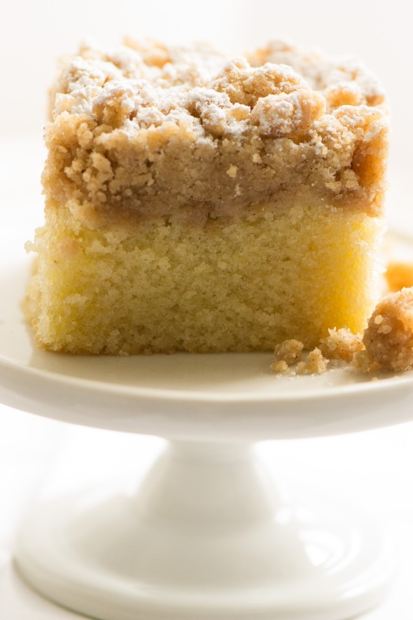 Cook's Illustrated New York Crumb Cake | suzie sweet tooth