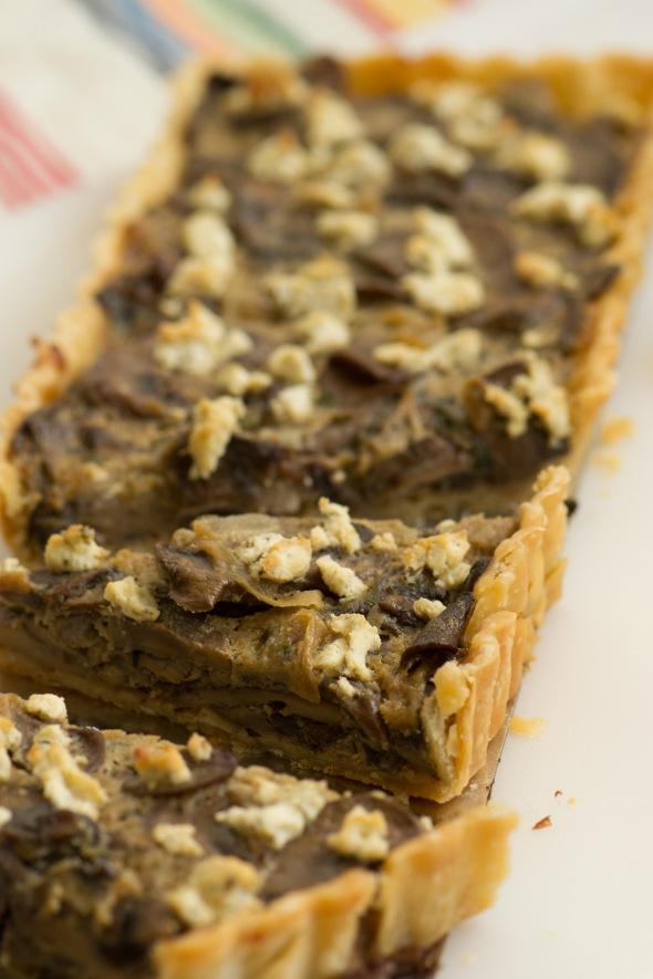 mushroom tart 2