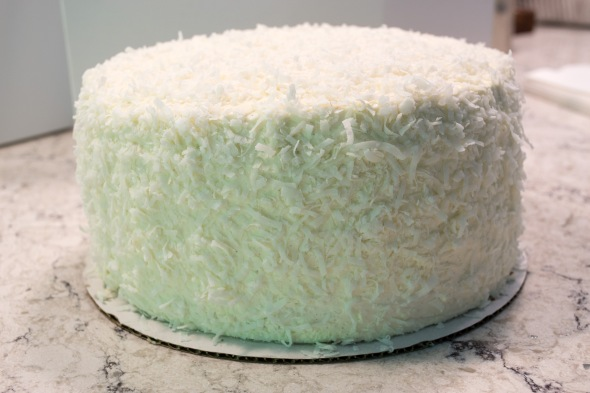 Coconut Pina Colada Cake