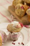 raspberry and rose muffins3