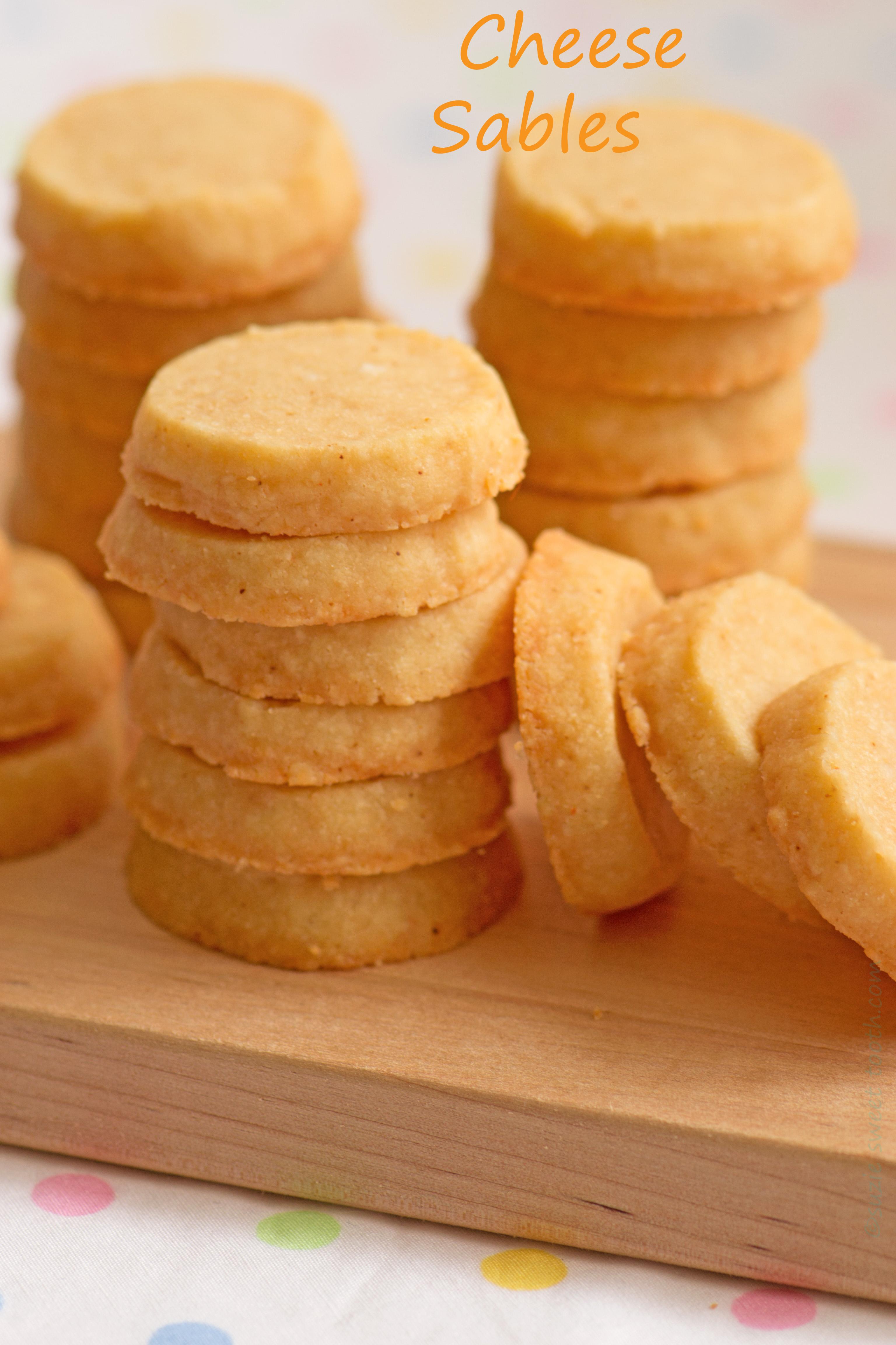 Romano Parmesan Sable Crackers