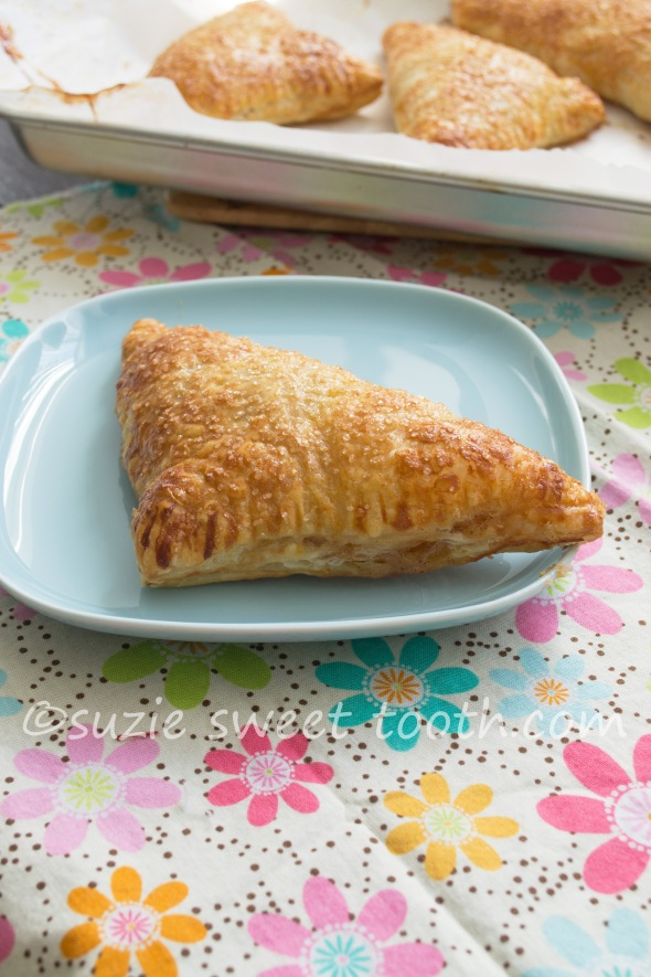 apple currant turnovers