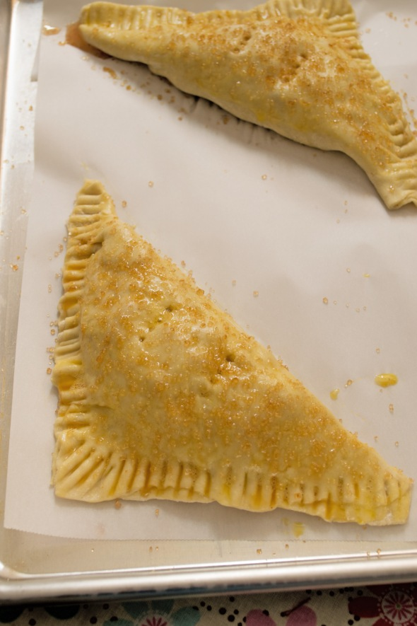 turnovers assembled