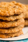 oatmeal raisinet cookies2