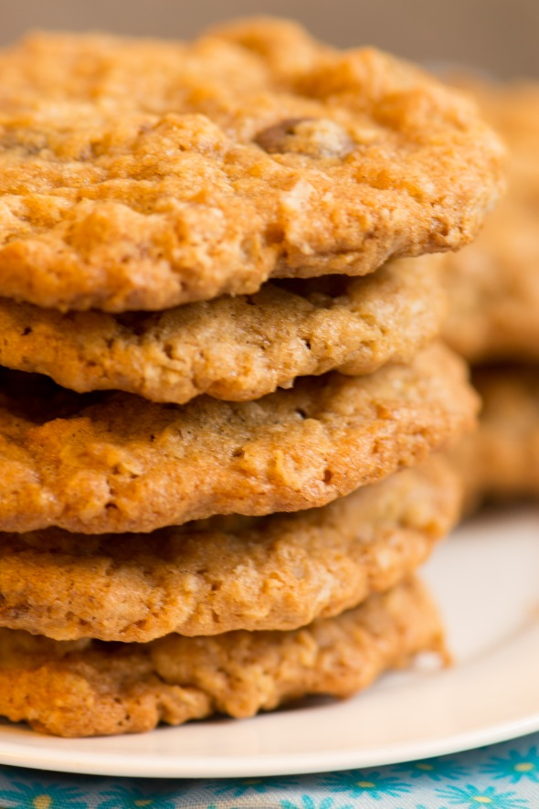 oatmeal raisinet cookies 2