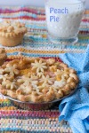 Peach PIe with Groovy Flower CutOuts