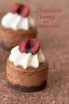 Choc Cherry MiniCheesecakes