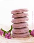Lavender macarons  with white chocolate lavenderganache