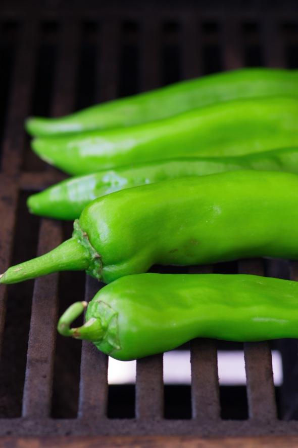 chilis roasting