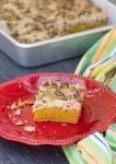Pumpkin Streusel Coffee Cake with Pecan and Pumpkin SeedStreusel
