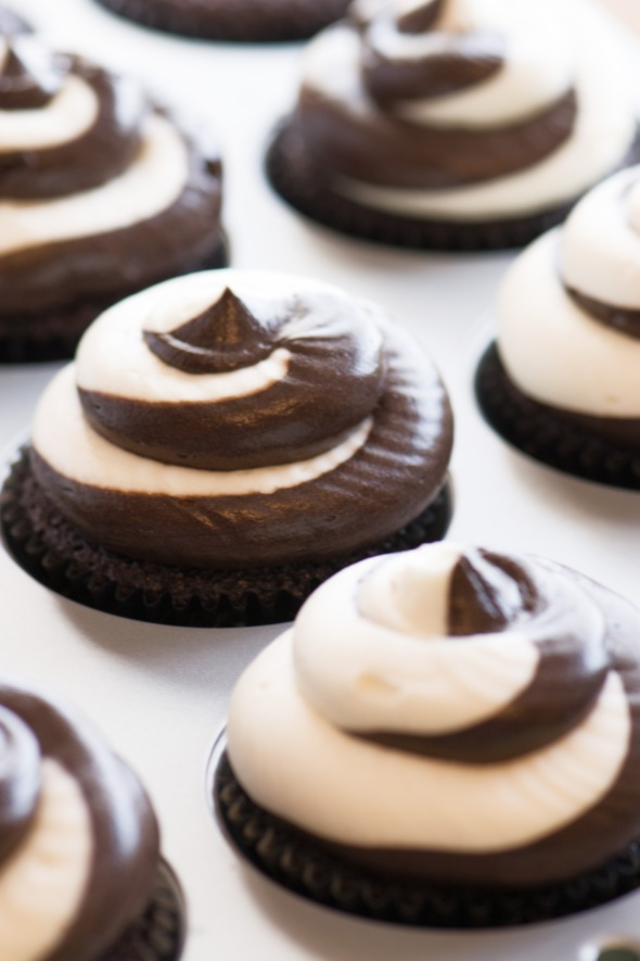 Baileys Irish Cream and Chocolate Fudge Buttercream