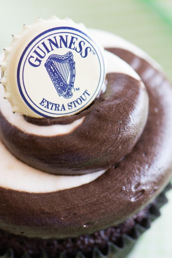 Choc Guinness Stout Cupcake