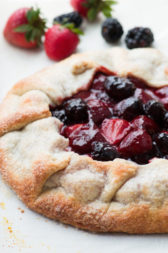 Strawberry Blackberry Galette