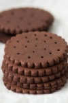 chocolate cookies for ice creamsandwiches