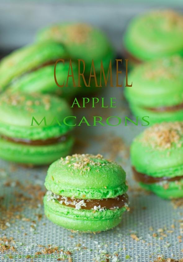 caramel-apple-macarons-to-celebrate-fall