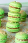 green-apple-macarons-with-caramel-filling