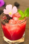 Blackberry Mint VodkaFizz