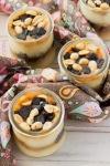 Vanilla and Salted Caramel PuddingParfaits