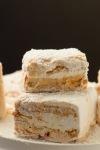 Caramel Swirl Marshmallows coated in powderedsugar